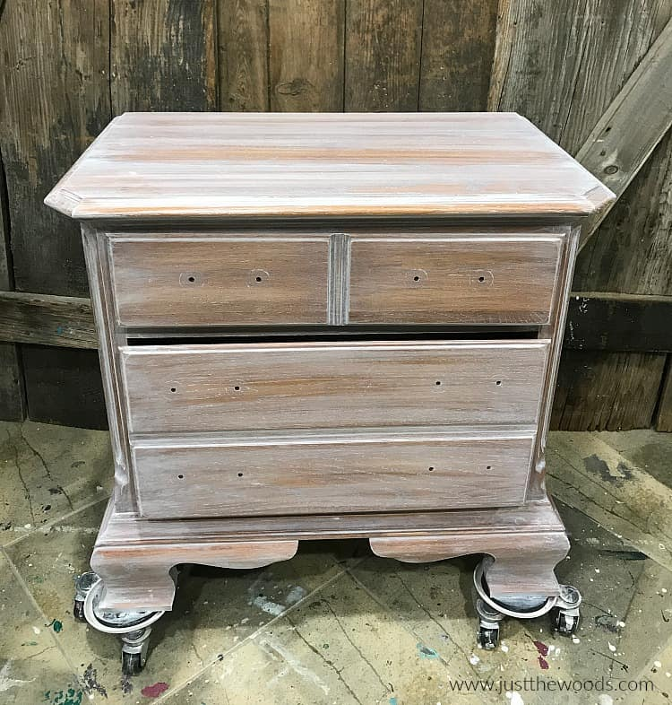 weathered wood dresser, furniture with white stain finish, whitewash on table
