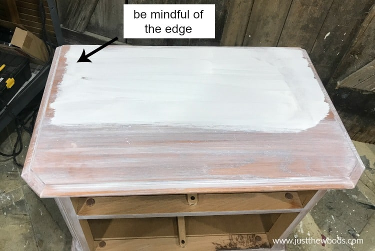 whitewash tutorial, how to whitewash wood tutorial, step by step