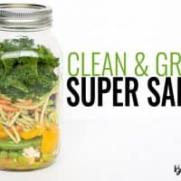 Clean and Green Super Salad