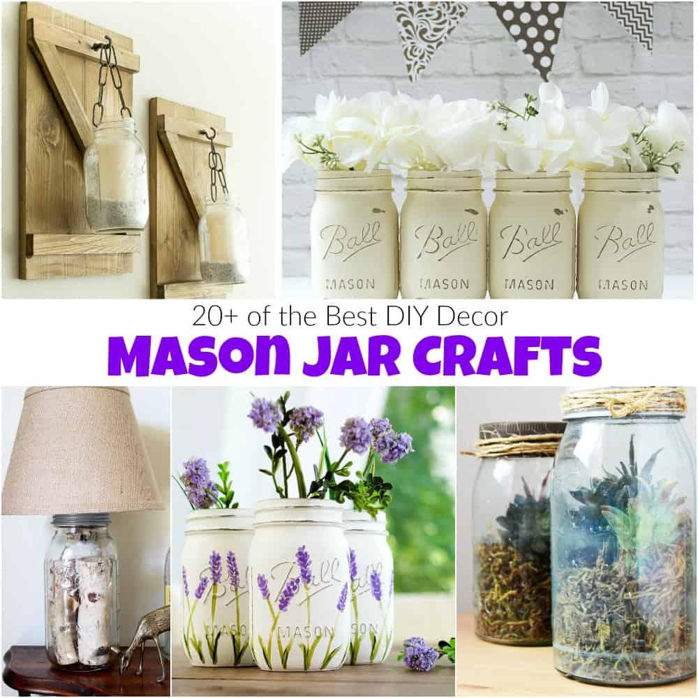 20 Of The Best Diy Decor Mason Jar Crafts
