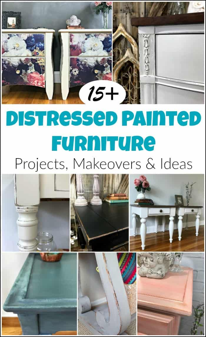 distressed painted furniture ideas, distressed chalk paint furniture