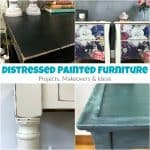 15+ Distressed Painted Furniture Projects, Makeovers & Ideas