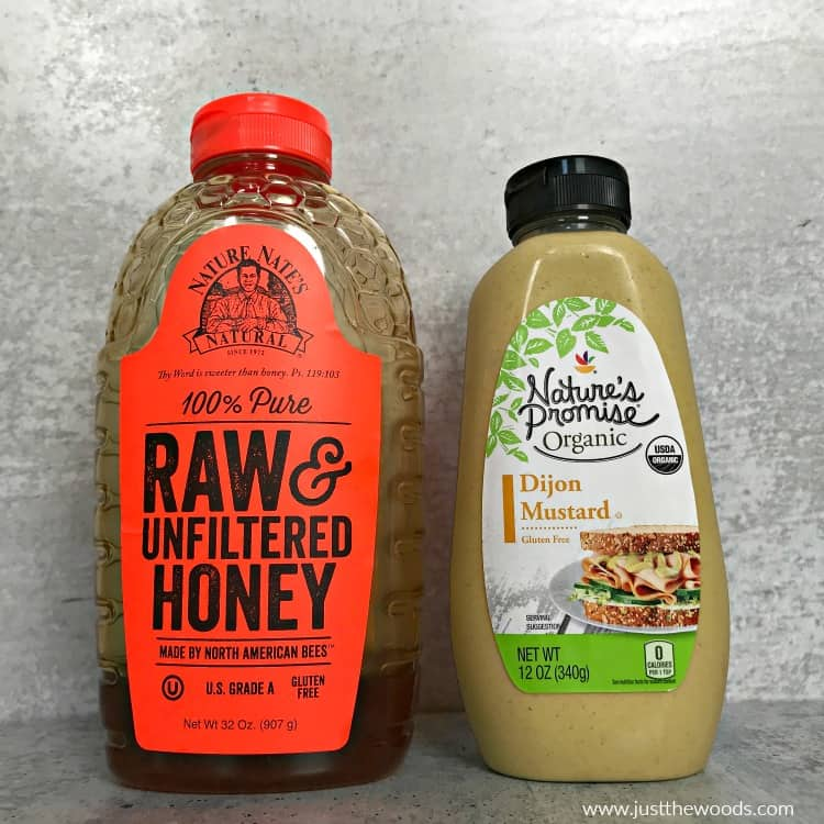 raw unfiltered honey, dijon mustard, how to make honey mustard dressing