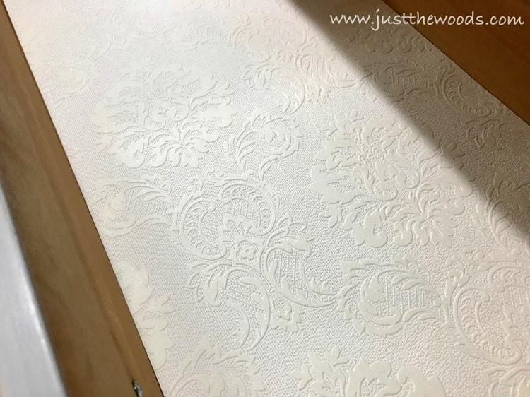 textured wallpaper drawer liner
