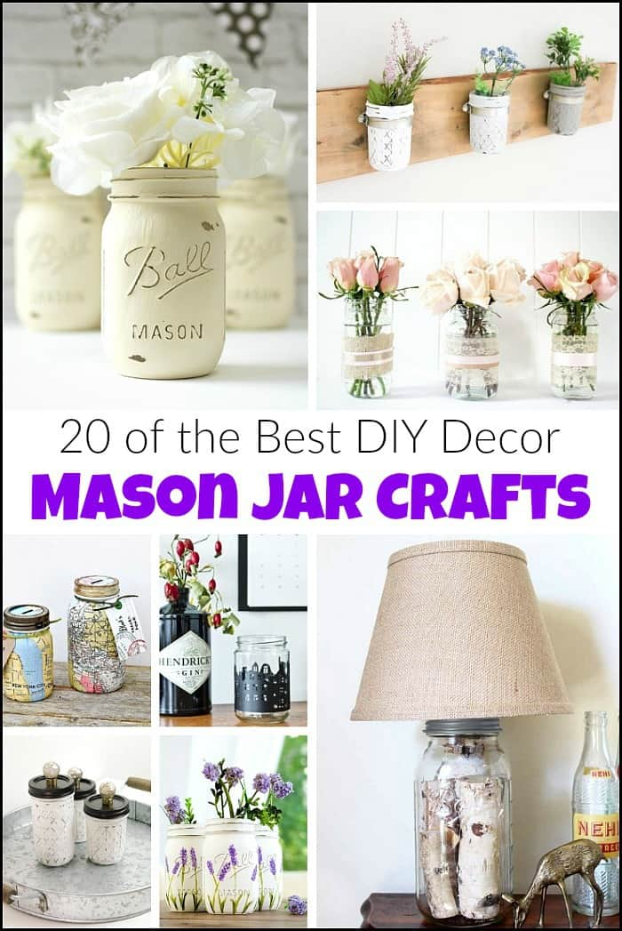 20 Of The Best Diy Decor Mason Jar Crafts