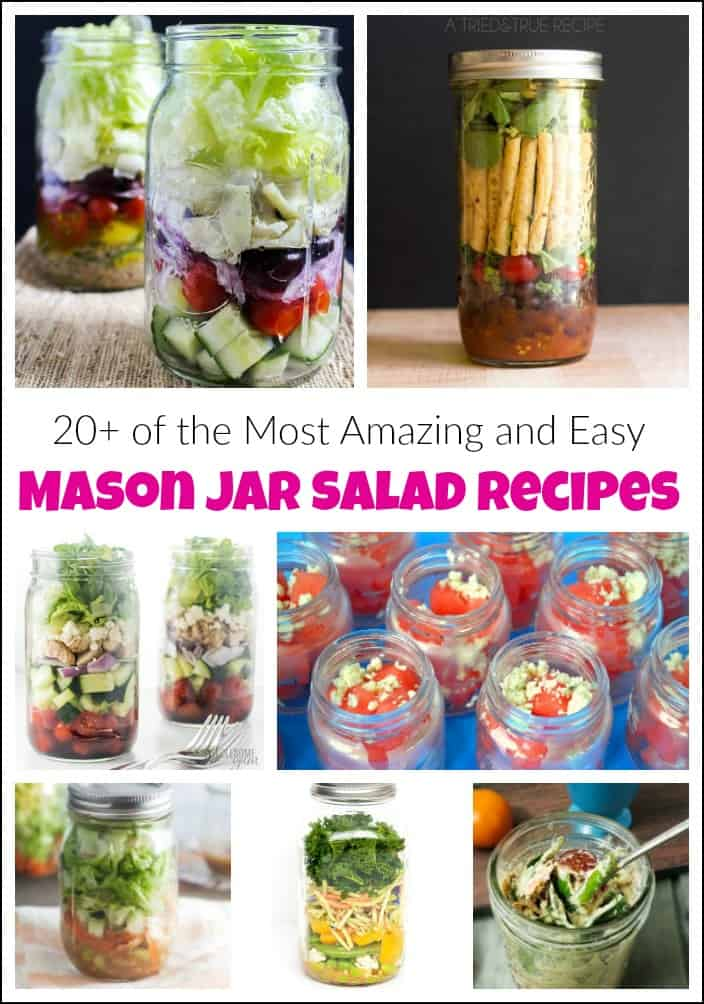 mason jar salad recipes, jar salads, mason jar salad ideas