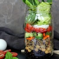 Protein Power Salad Jar