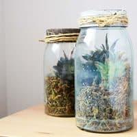 Mason Jar DIY Terrarium