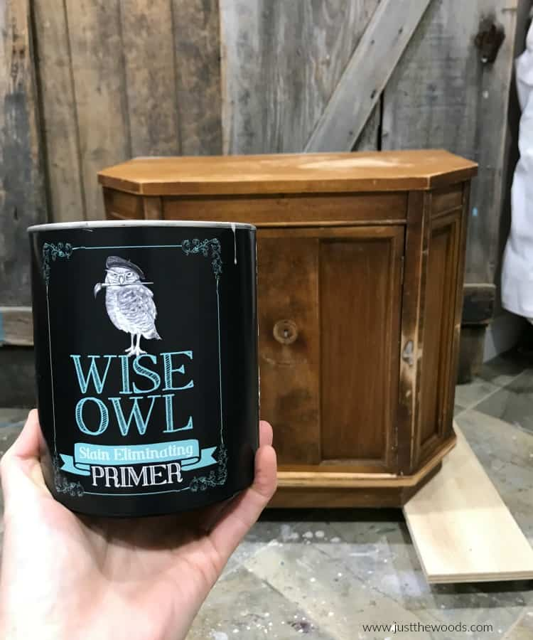 wise owl paint, stain eliminating primer, water based primer