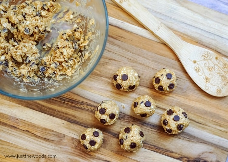 make homemade protein balls, peanut butter oat balls, oatmeal protein balls