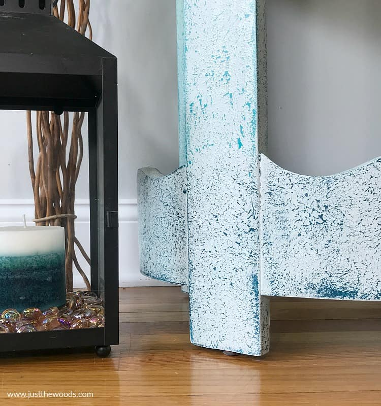How To Create Amazing Textured Paint On Furniture With