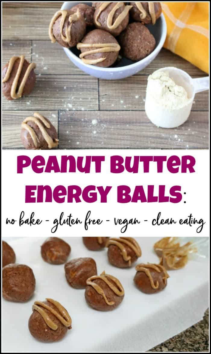 peanut butter energy balls recipe, peanut butter protein balls made with protein powder
