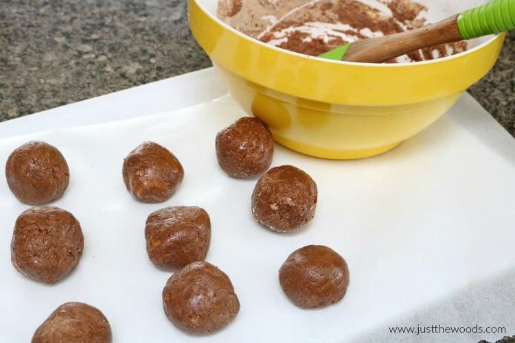 no bake peanut butter balls, healthy peanut butter balls