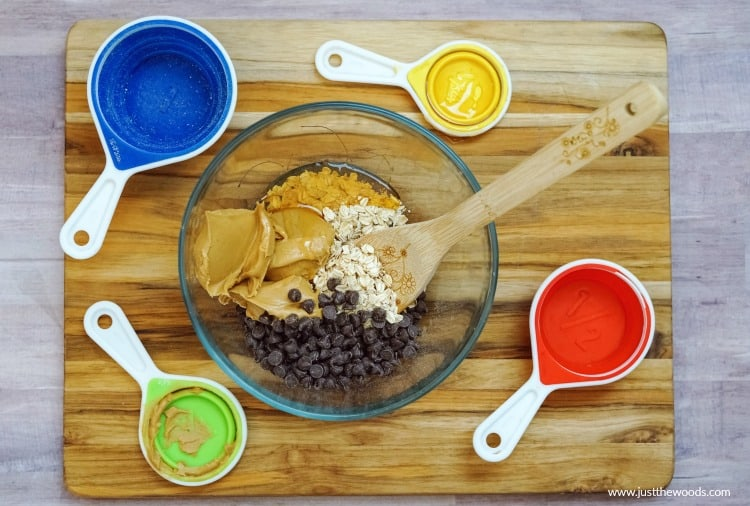 4 ingredient oatmeal protein balls, peanut butter oat bites