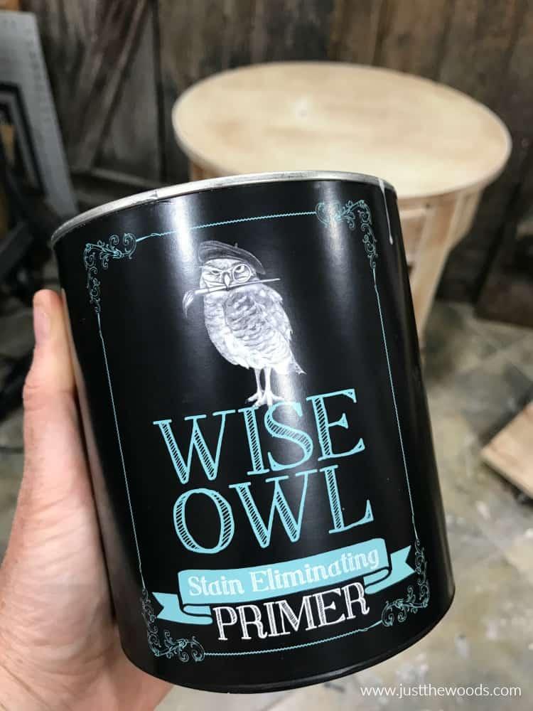 wise owl primer, clear primer, stain eliminating primer