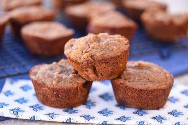 Gluten Free Strawberry Muffins | Paleo Muffins