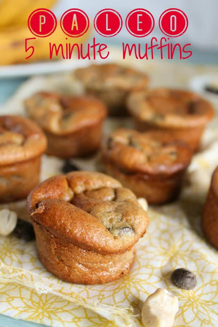 Paleo 5 Minute Muffins – Grain Free | No Added Sugars