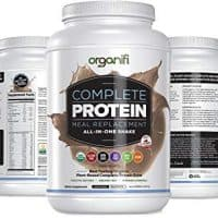 Organifi: Complete Protein - Vegan Protein Powder - Organic Plant Based Protein Drink - Soy, Dairy, and Gluten Free - Digestive Enzymes - Complete Chocolate Flavor - 30 Day Supply