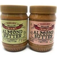 Trader Joe's Almond Butter Two Pack - Crunchy + Creamy Almond Butter Two Pack Unsalted - No Salt