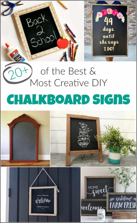 chalkboard sign ideas