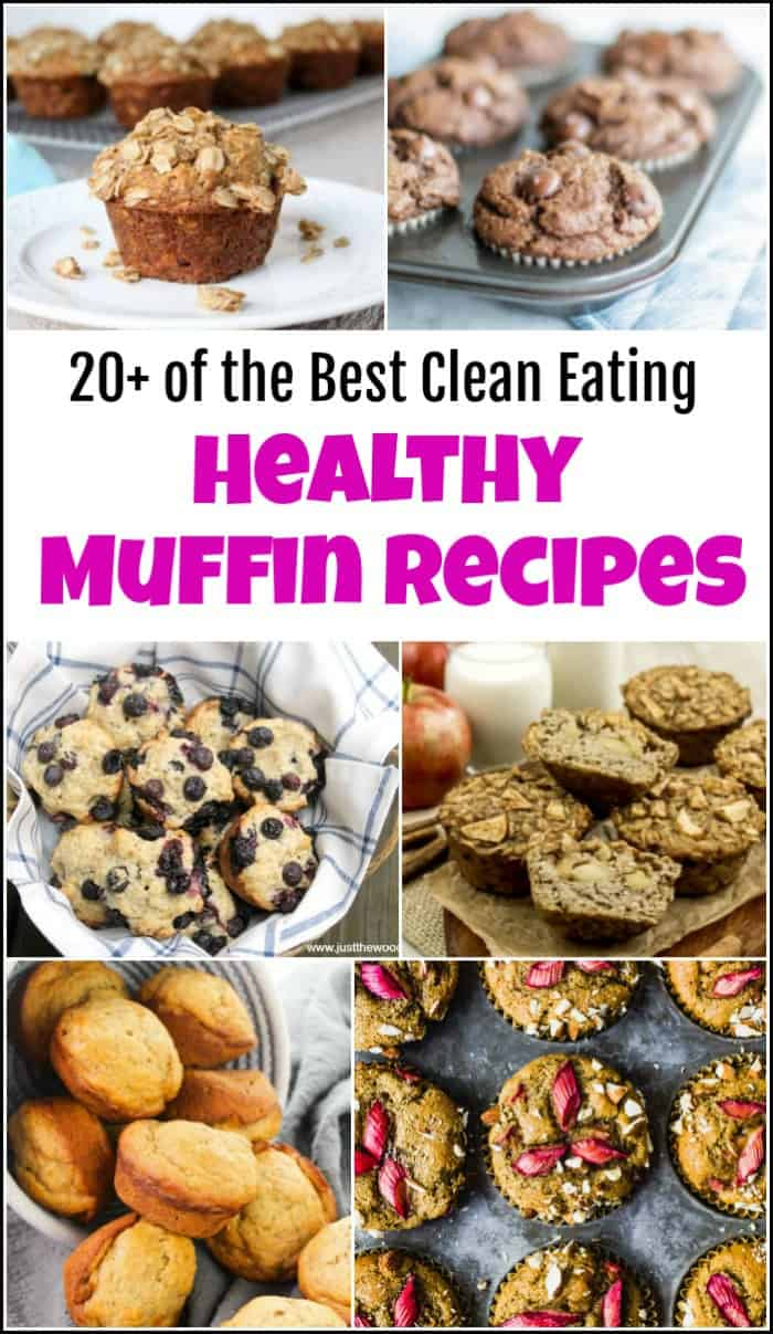 healthy muffin recipes, gluten free muffins, clean eating muffins