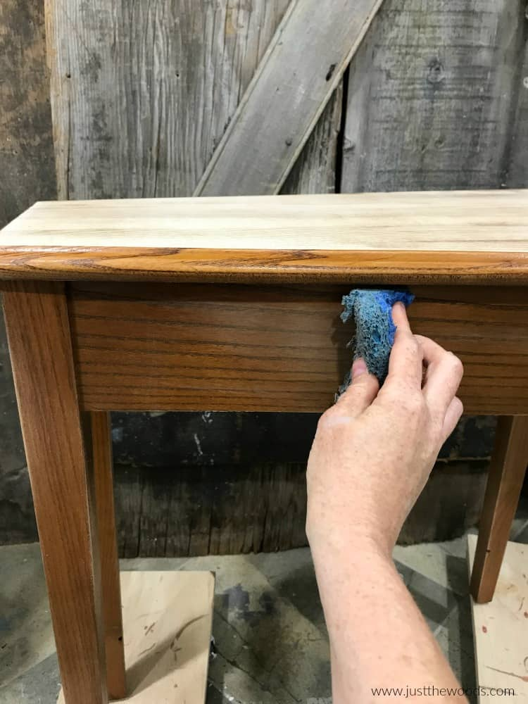 how to clean wood furniture, clean wood table