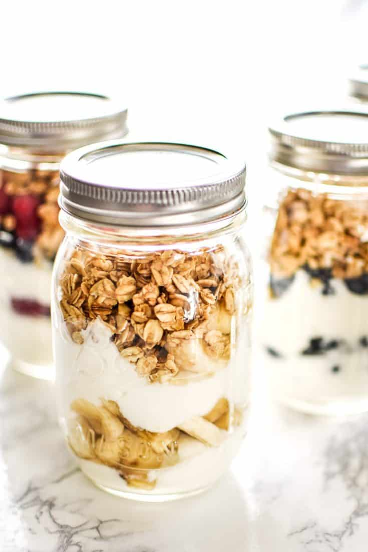 Make-Ahead Fruit & Greek Yogurt Parfait Ideas
