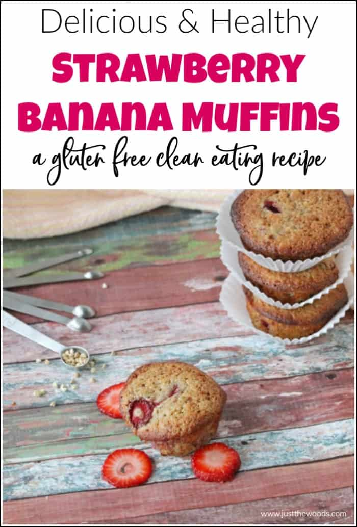 best banana muffins with strawberries