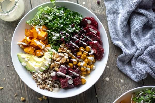 Turmeric Chickpea Buddha Bowl: Eat ALL the Superfoods!