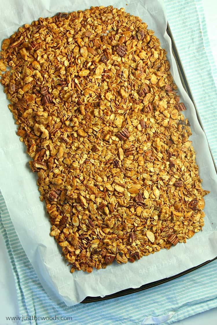baked granola recipe
