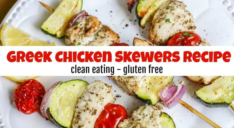 How to Make a Delicious & Healthy Chicken Skewers Recipe
