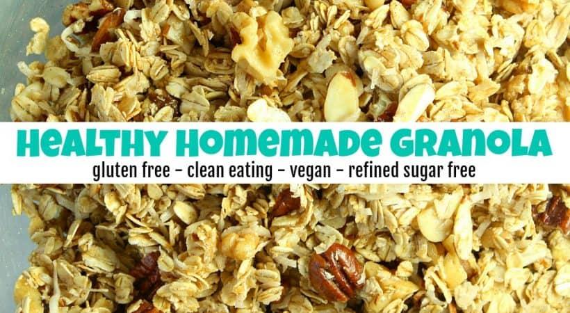 How to Make Delicious Healthy Homemade Granola