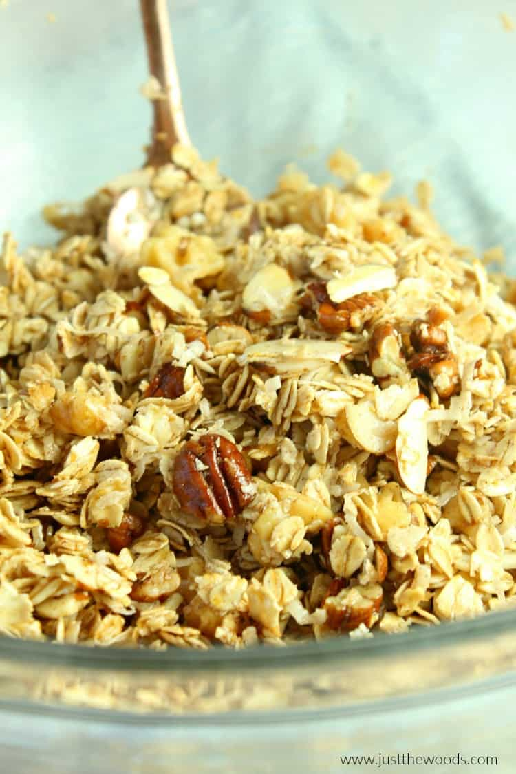 no added sugar granola