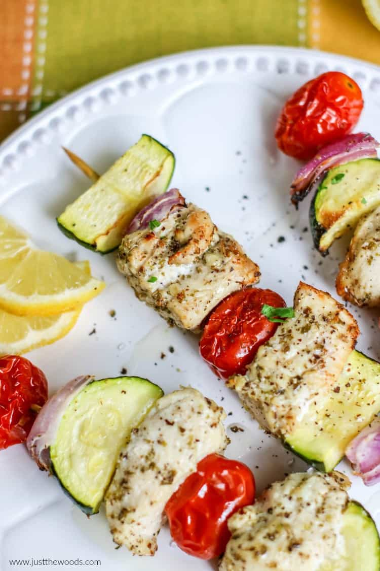 clean eating Chicken Skewers Recipe