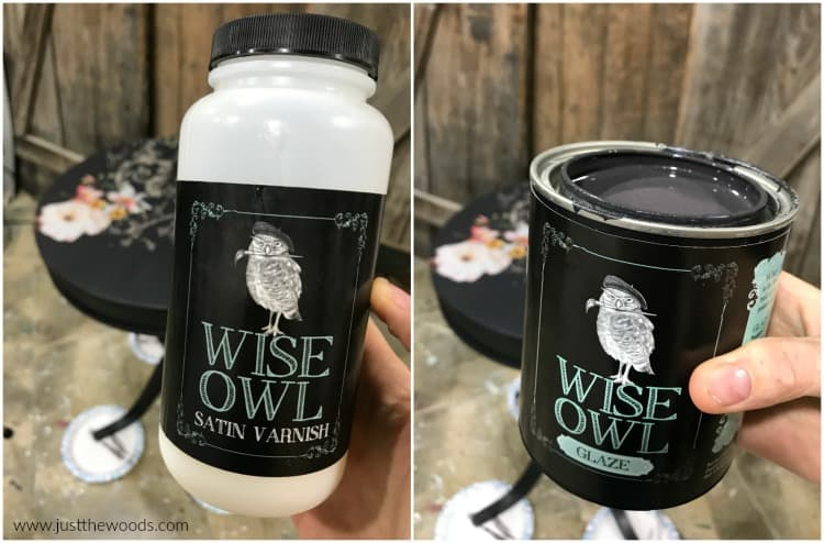 wise owl varnish, how to tint topcoat, tinted sealer