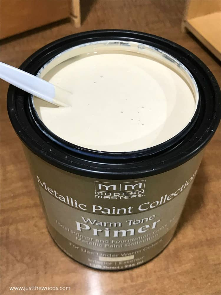 beige primer, metallic paint primer