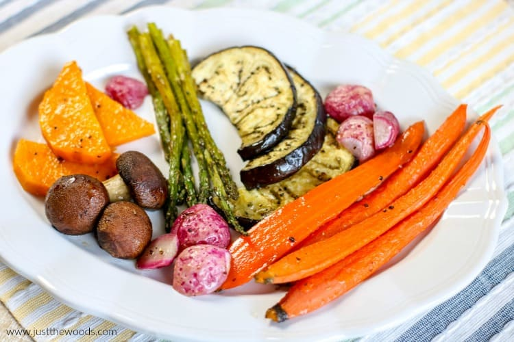roasted vegetables thanksgiving