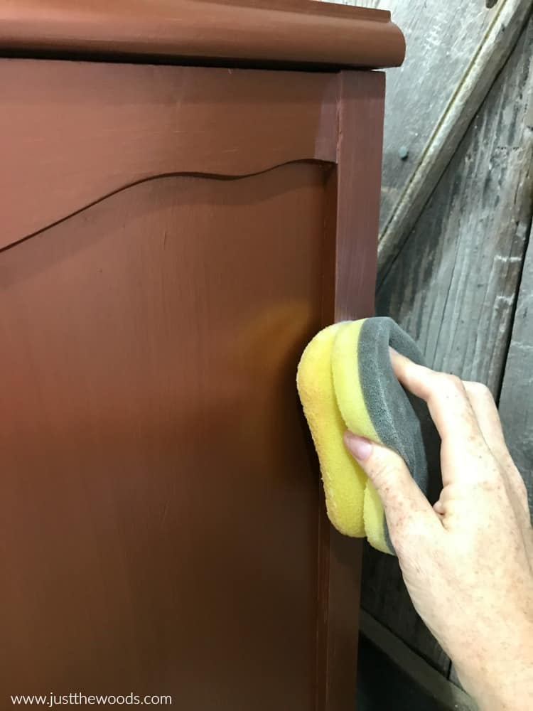 sealing painted furniture