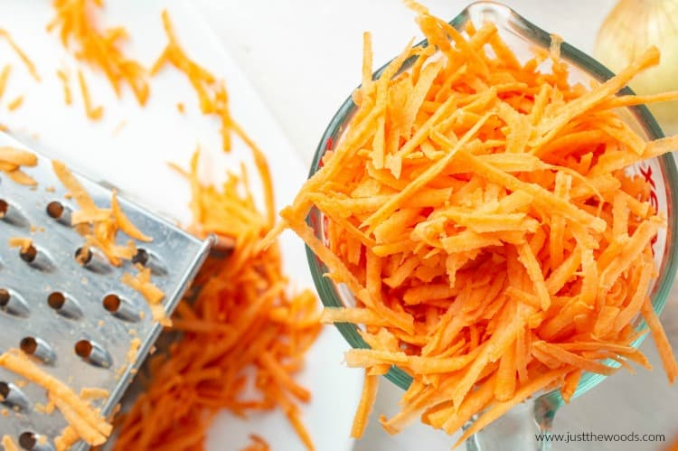 shredded sweet potato hash