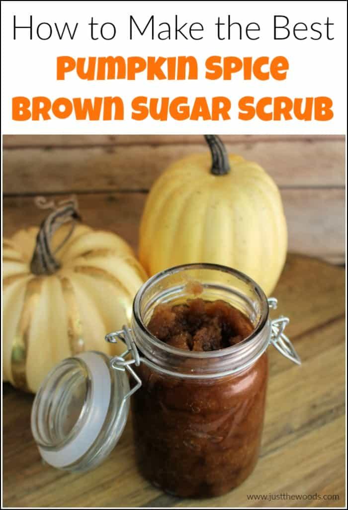 How to Make the Best Pumpkin Spice Homemade Sugar Scrub