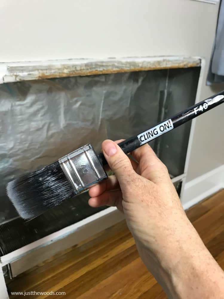 cling on paintbrush, paintbrush, brush for furniture paint