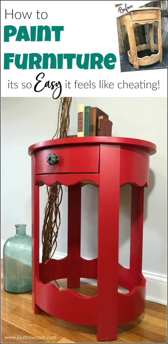 how to use wise owl paint, painted furniture before and after