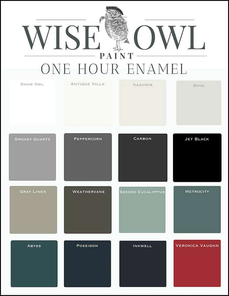 wise owl enamel paint, wise owl paint one hour enamel