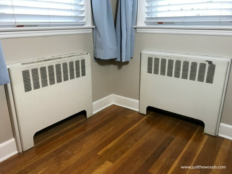 freshen up radiator covers, metal paint, paint metal