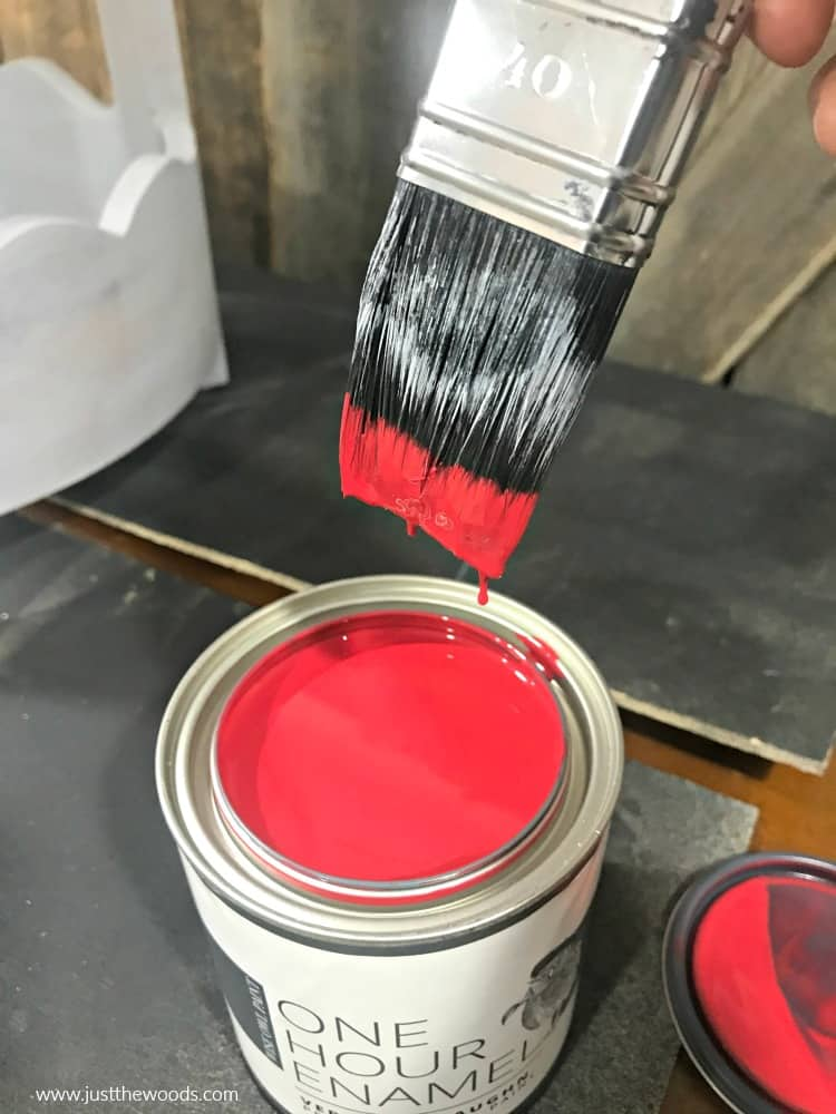 red furniture paint, wise owl paint colors
