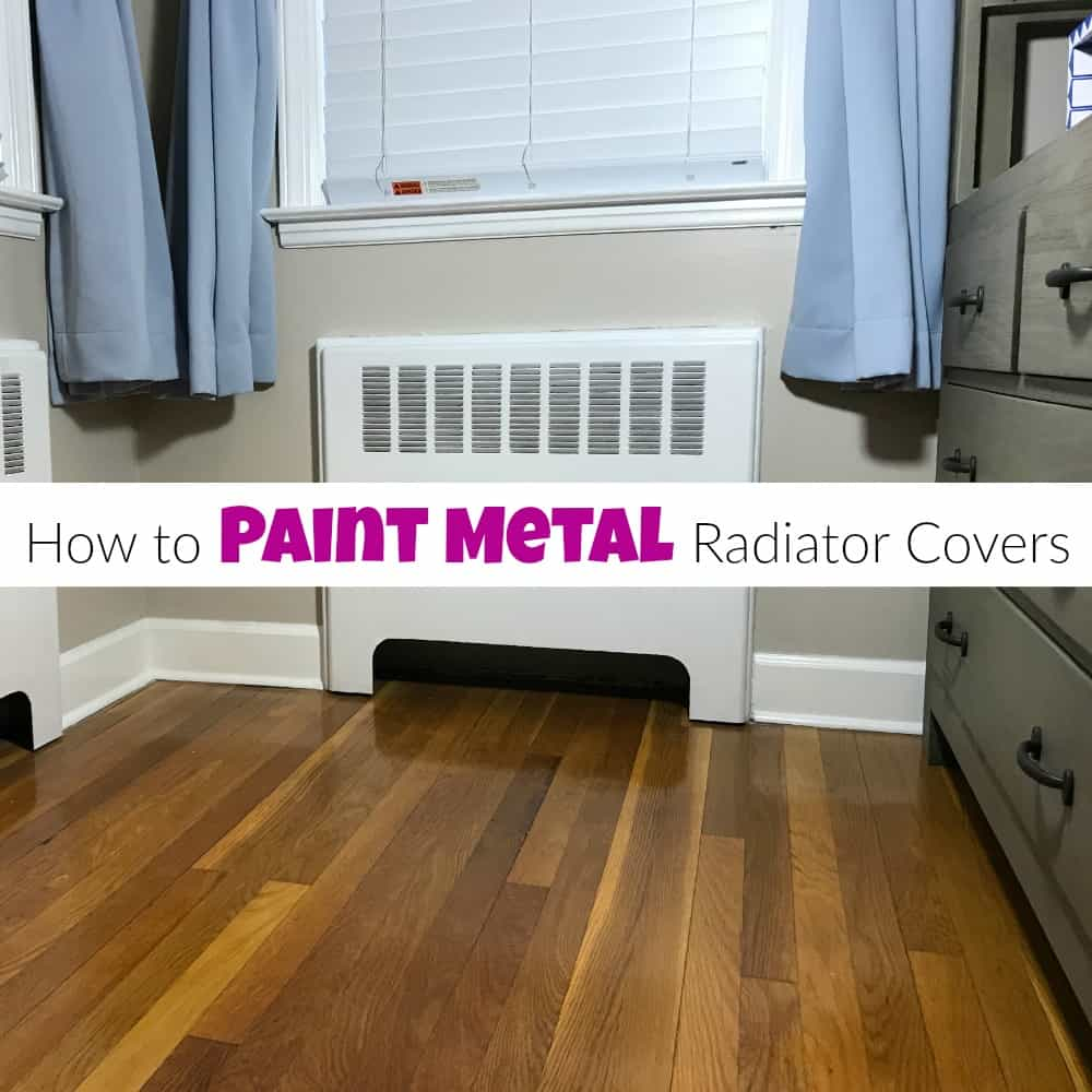 How To Paint Metal Radiator Covers For A Fresh New Look