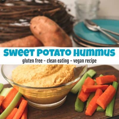 The Best Healthy Sweet Potato Hummus Recipe