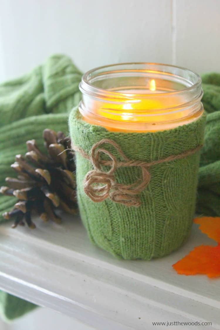 upcycle sweater craft ideas