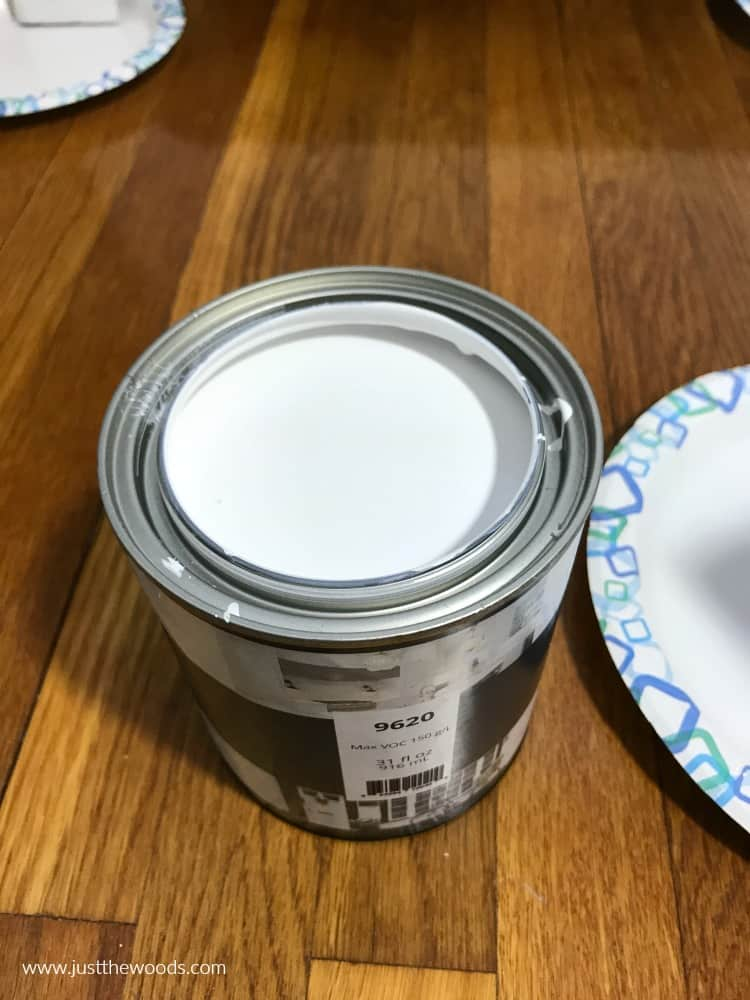 pure white paint, metal paint, enamel paint, wise owl paint