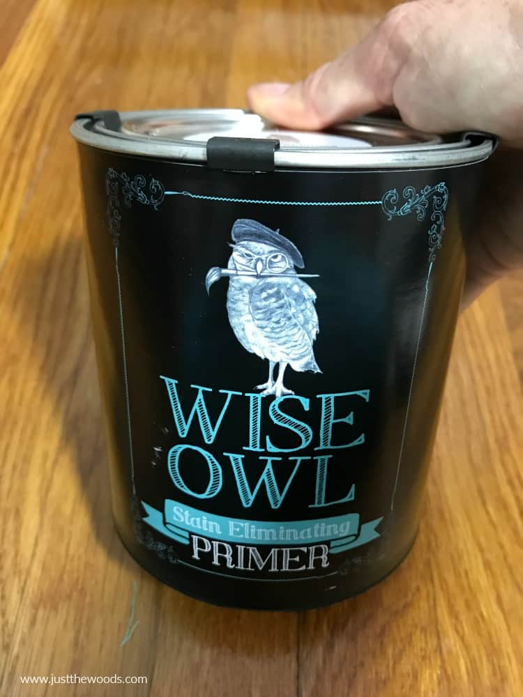 stain eliminating primer, wise owl primer